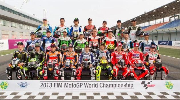 Daftar Yang Akan Berlaga di MotoGP 2014