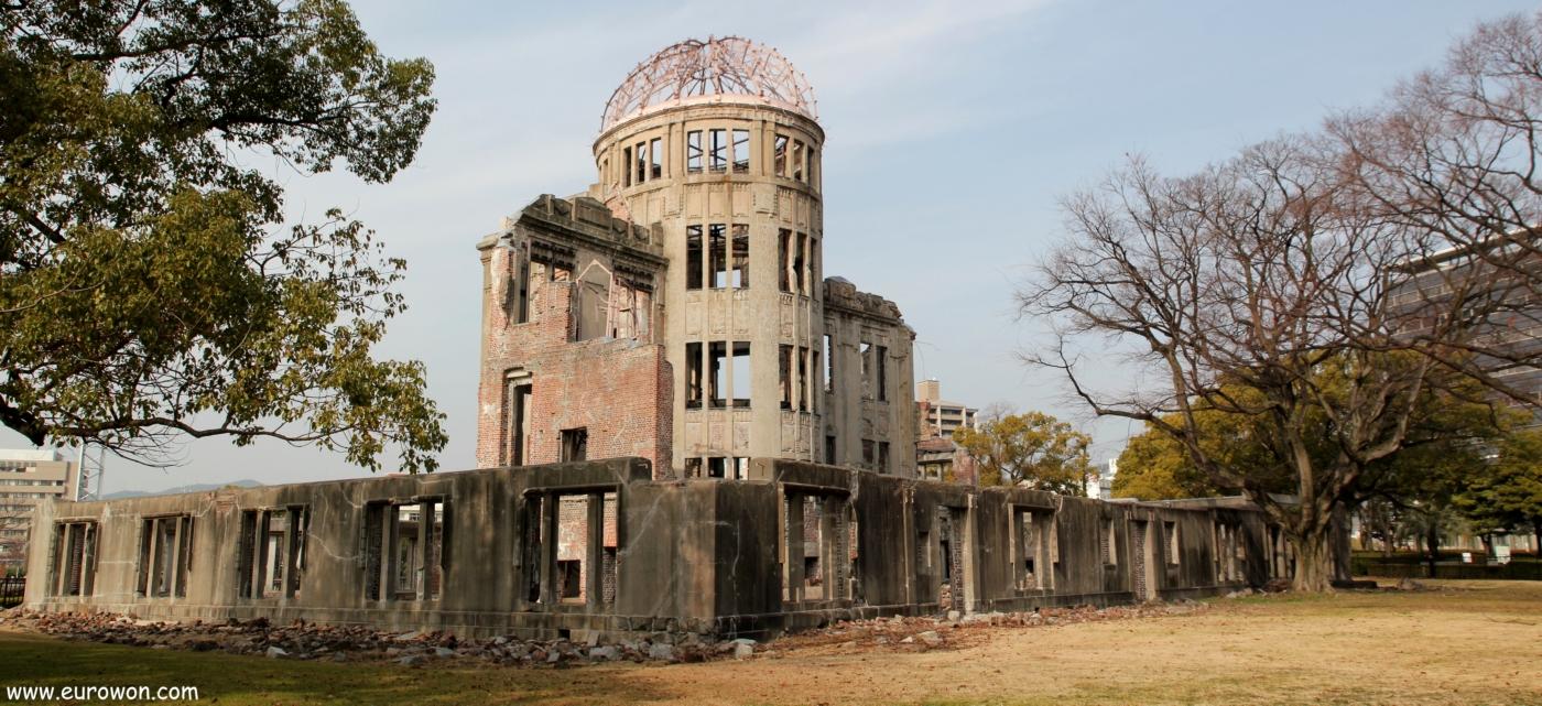 Cúpula Genbaku de Hiroshima en Japón