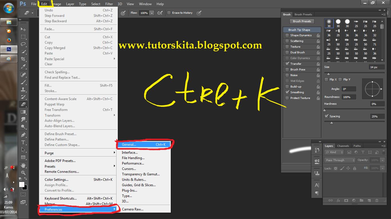 Mempercepat Kinerja/Loading Adobe Photoshop