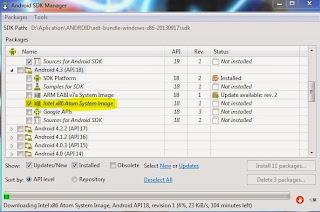 Cara Mempercepat Emulator Android SDK