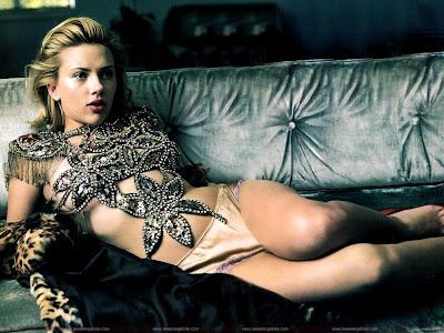 Scarlett Johansson lingerie Photo Shoot