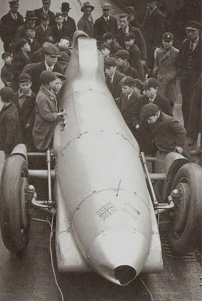 British race car, c1939