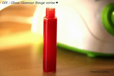 recette cosmétique maison gloss rouge à lèvres rouge colorant