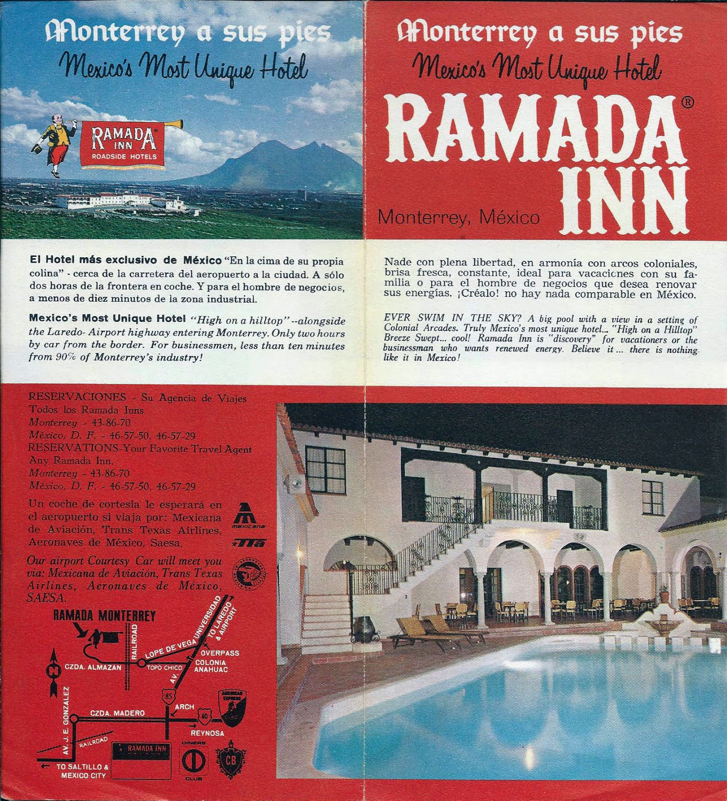 Monterrey m xico hotel ramada inn for Nombres de hoteles famosos