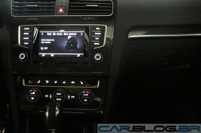Novo Golf GTI 2014 - interior