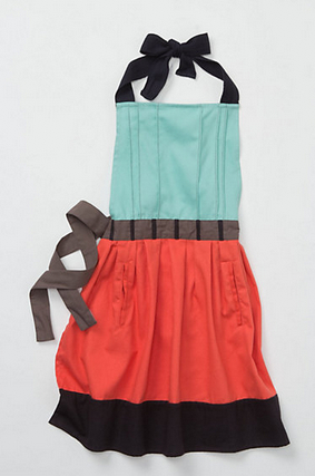 A bubbly life holiday gift guide for the little chef for Anthropologie cuisine couture apron