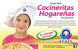 Para nuestras futuras Cocineras profesionales