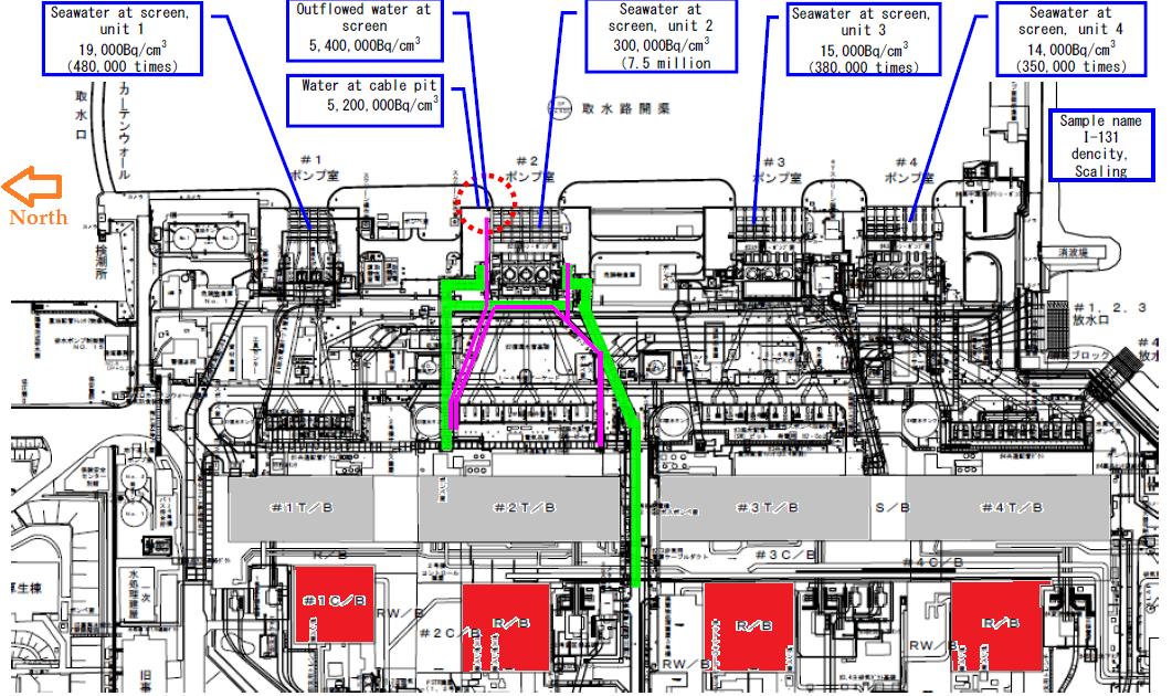 Atomic Power Review  Good Overhead View Of Fukushima Daiichi    Update