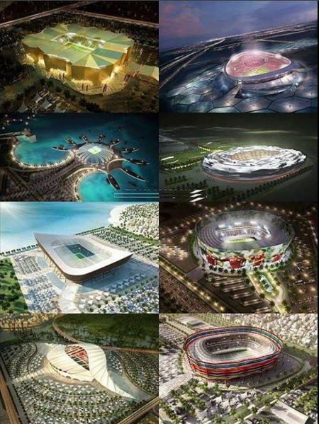 Les stades de la coupe du monde 2022 insolite foot - Prochaine coupe du monde de foot 2022 ...