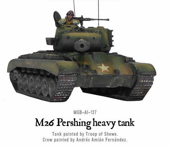 M26 PERSHING HEAVY TANK