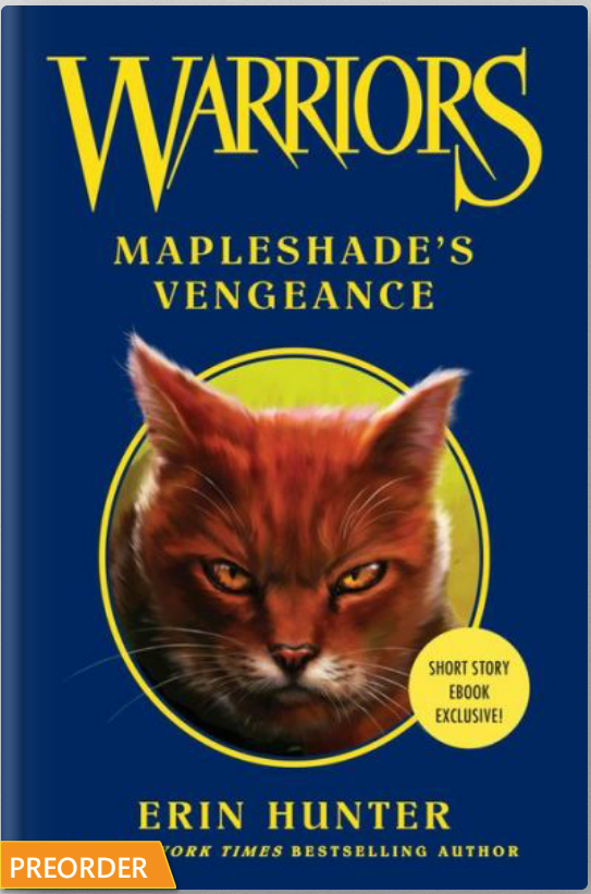 Warrior Cats Book Cover Template ~ Warrior cats path warriors mapleshade s vengeance