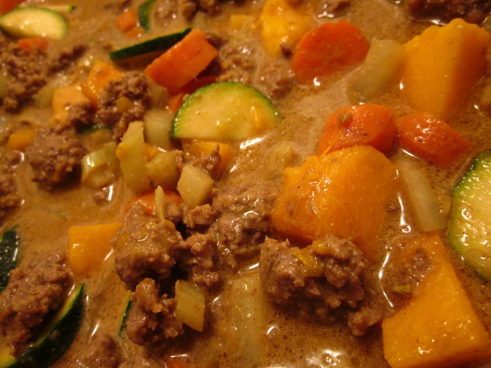 Culinary Adventures with Camilla: Curried Beef and Pumpkin Noodle Bowl