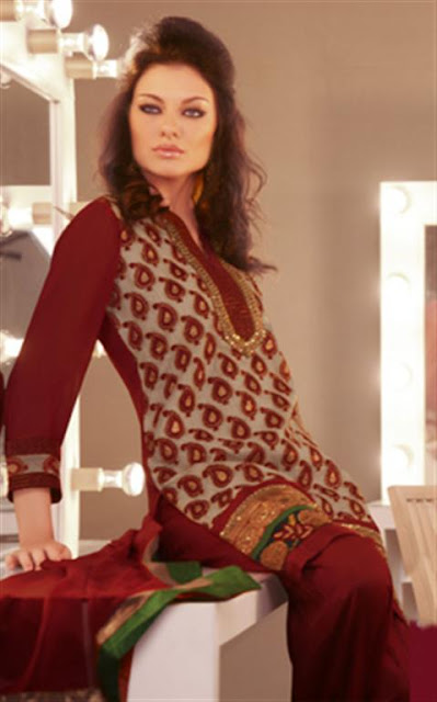 Stylish Pakistani Shalwar Kameez Designs