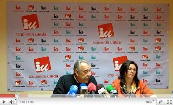 VIDEO DE LA RUEDA DE PRENSA DE VICTORIA DELICADO SOBRE LAS PROPUESTAS DE IU EN EMPLEO Y ECONOMIA