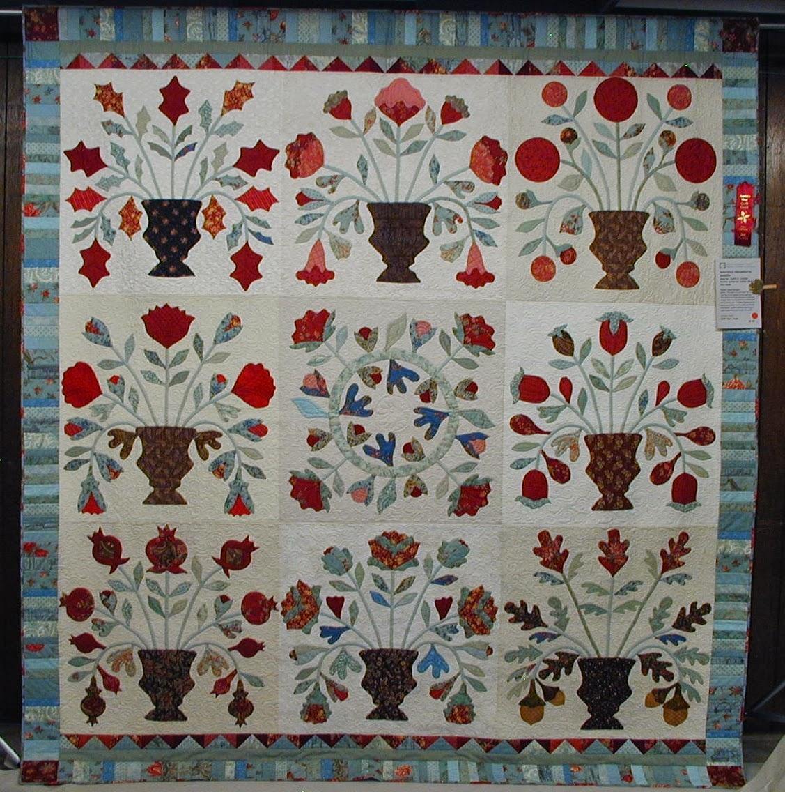 Amazing Quilts: Moonbear Longarm Quilting: ASQG Quilt Show