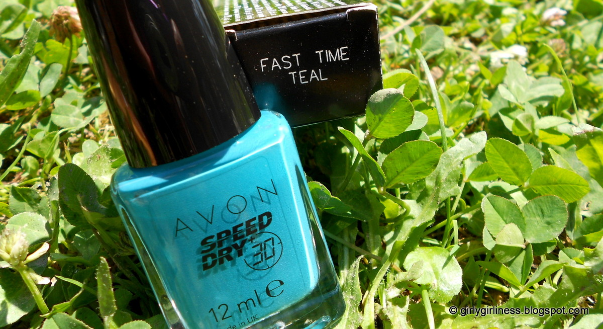 avon speed dry teal