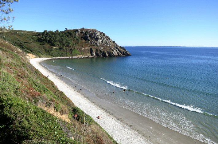 La plage du Poul ou plage de Raguenez