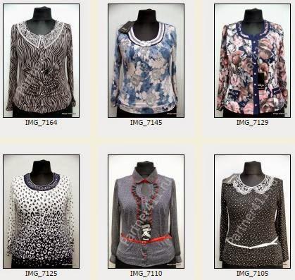 Женские блузки оптом