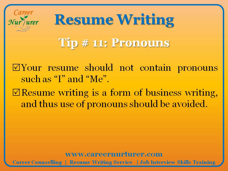 how to write a good resume png
