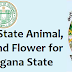 Go No 23 State Animal, Bird, Tree and Flower for the new State of Telangana