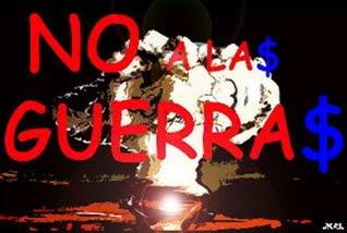 NO A LAS GUERRA