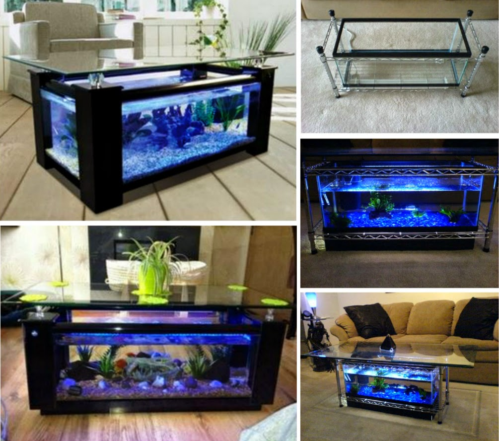 Ideas & Products: Aquarium Coffee Table