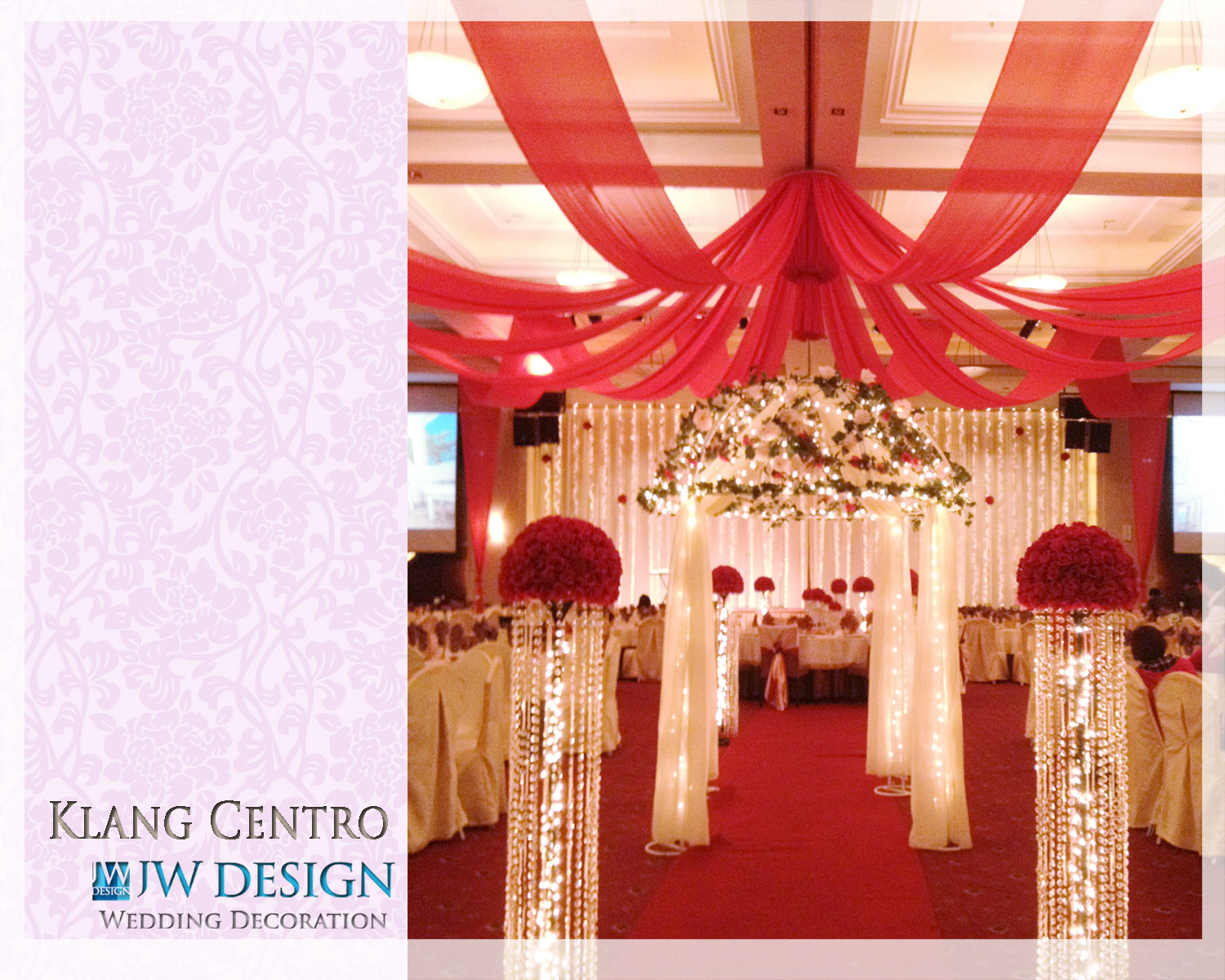 Jw design wedding decoration edwin amelias wedding klang posted by jw design wedding decoration at 801 pm junglespirit Gallery