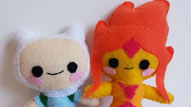 How to Make an Adventure Time Flame Princess plushie tutorial