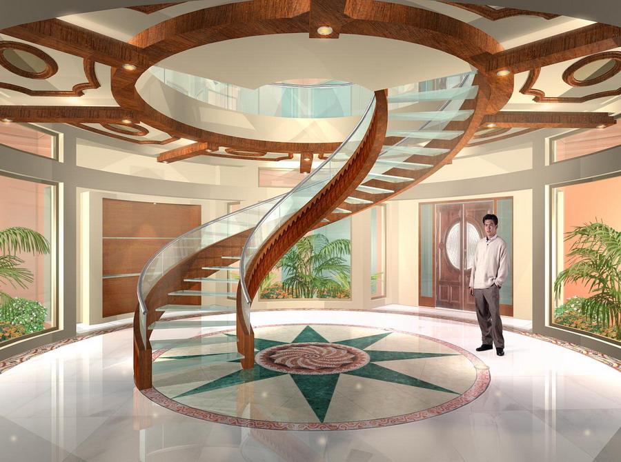 28 Half Circle Stair Design Half Circular Stairway In