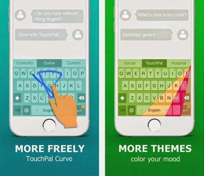 Teclado alternativo TouchPal Keyboard para iOS e Android
