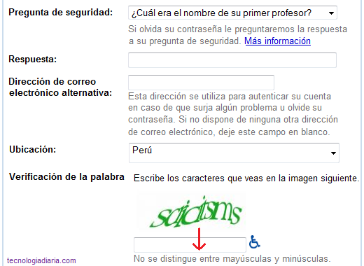 Como crear un correo de google gmail