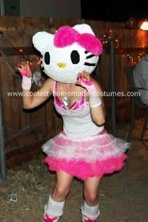 Hello Kitty rave girl Halloween costume