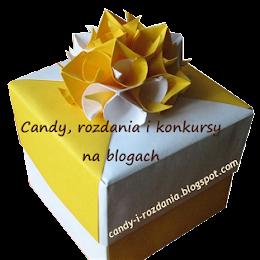 CANDY - rozdania i konkursy na blogach :)