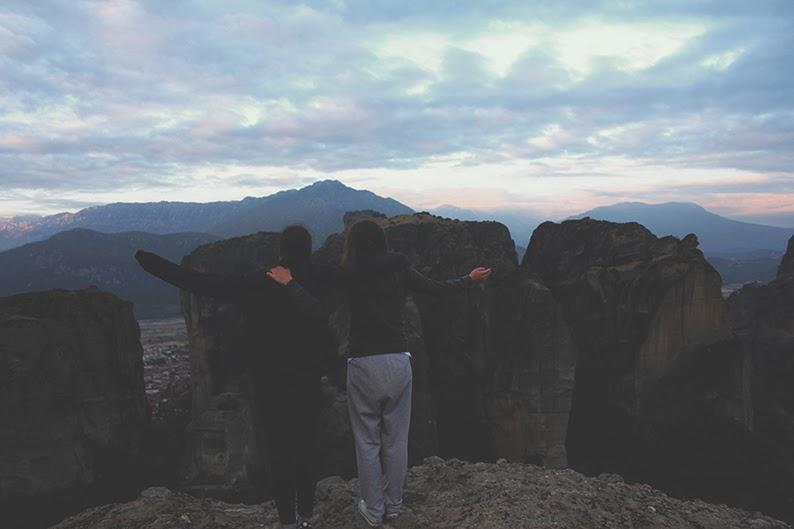 góry wschód słońca