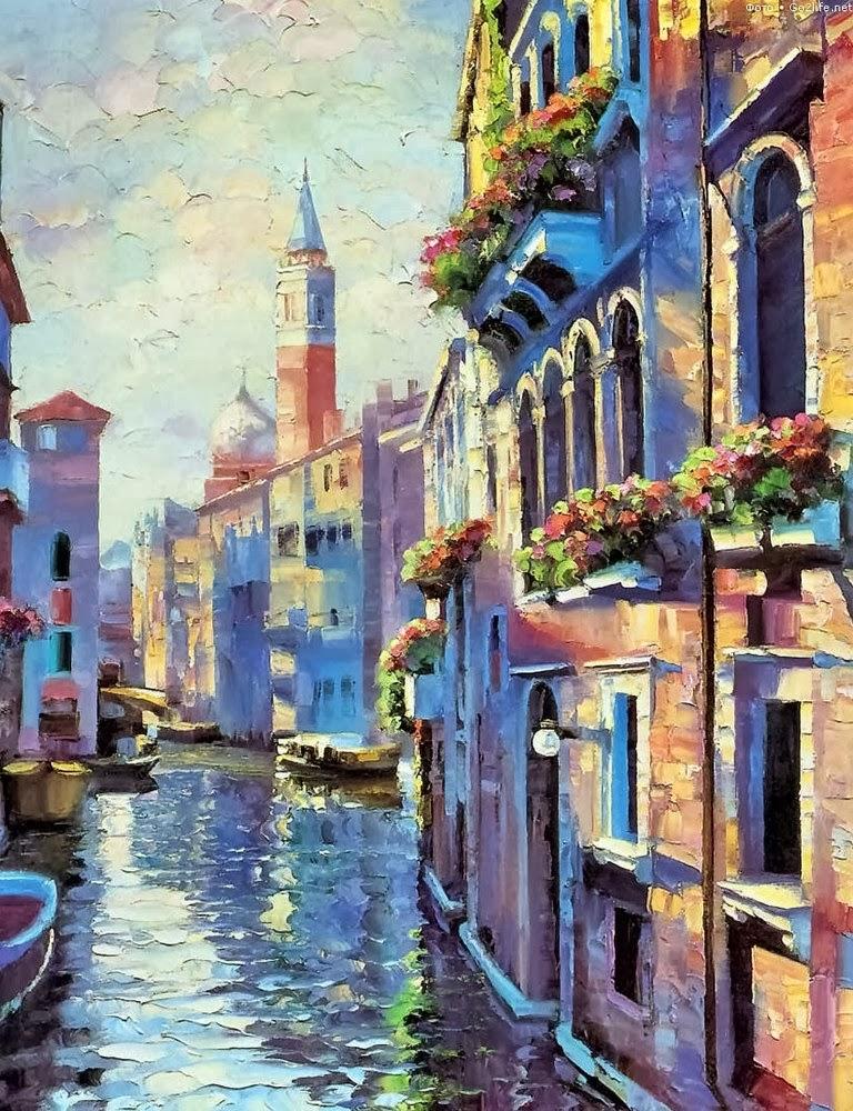 Cuadros modernos pinturas y dibujos cuadros de paisajes - Cuadros modernos ...