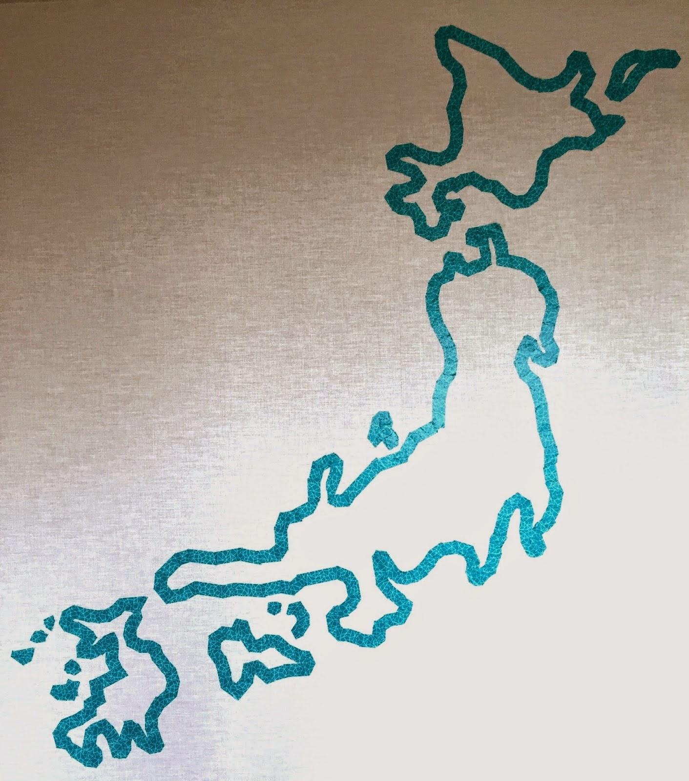 Washi Tape Wall Art washi tape wall art | elephantandchick