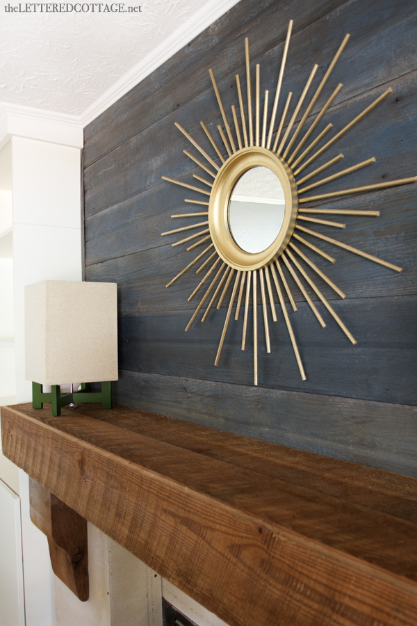 Sohl Design Diy Gold Sunburst Mirror
