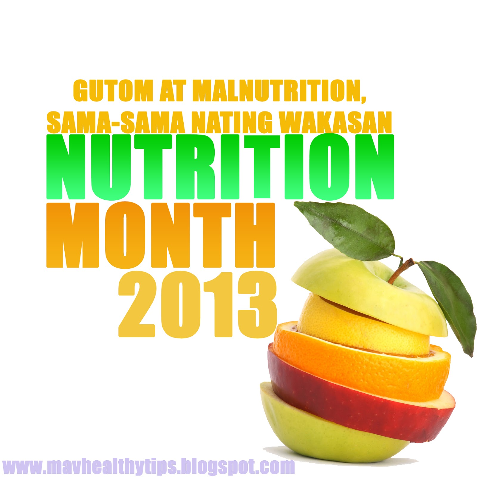 essay about nutrition month theme 2013 tagalog