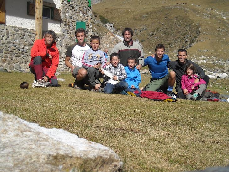 8 d'octubre 2011. Excursió Queralbs-Refugi Coma de Vaca-Queralbs