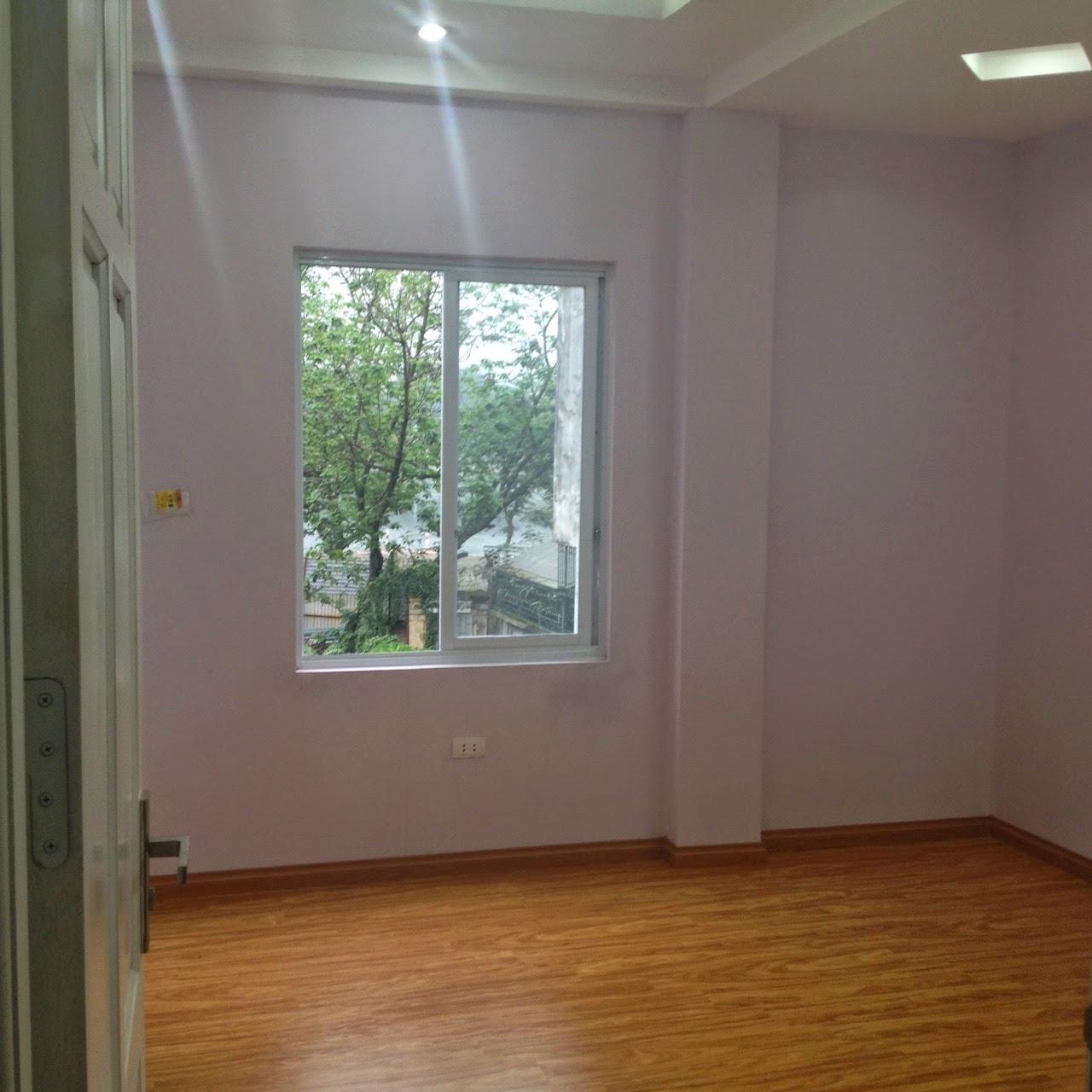 Không gian phòng khách chung cư Hồ Ba Mẫu