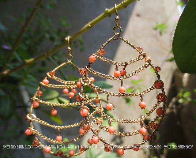 accessirze santorini bead drop earring