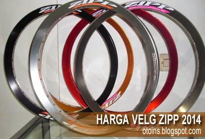 Rincian Harga Velg Motor ZIPP Racing Terbaru 2015