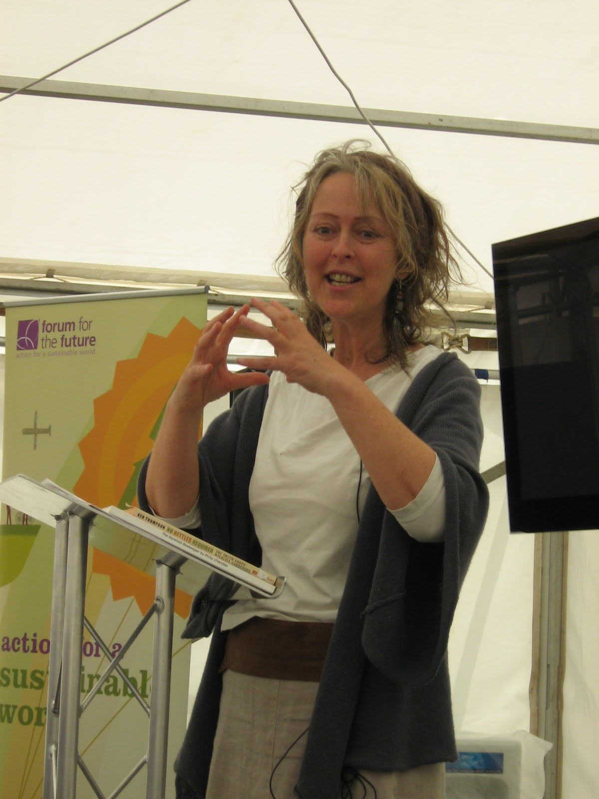 brigit strawbridge talks i speak about the importance of bees the differences between honeybees bumblebees and solitary bees the problems they all face focussing on habitat