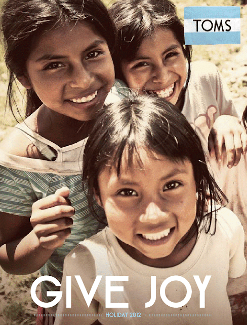 toms give joy