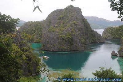 Kayangan Lake (aerial view)