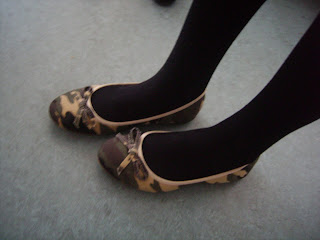 military style ballerinas