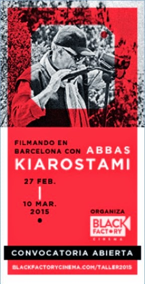 Taller de realización con Abbas Kiarostami en Barcelona