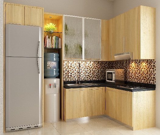 Model desain kitchen set minimalis modern for Dapur set aluminium