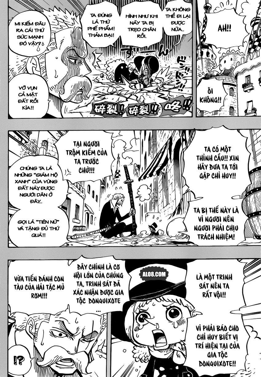 One Piece Chapter 711: Cuộc phiêu lưu ở xứ sở người lùn 011