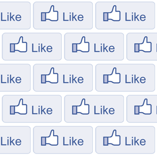 Like, buton, atentie, postare, share